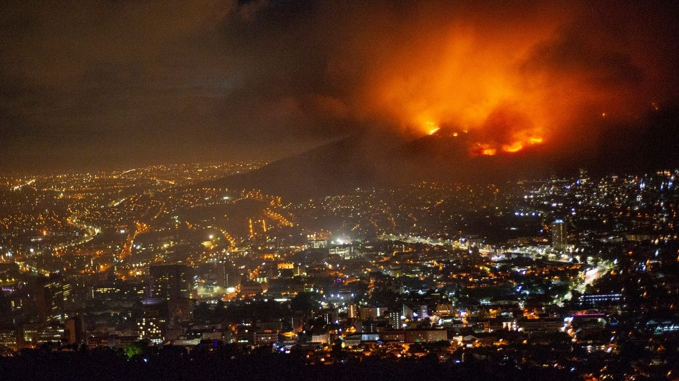 TIME IS OF THE ESSENCE! Devastating FIRE threatens survival of last 50 or 60 remaining Cape Town caracals!